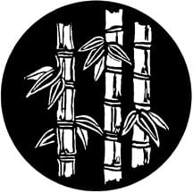 Bamboo Stems Patterned Steel Gobo