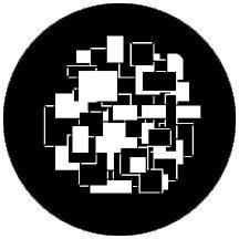 "Rosco Laboratories 74009 ""Symmetric9"" Patterned Steel Gobo 74009"