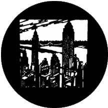 New York Skyline Gobo