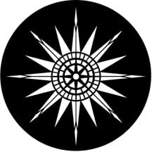 Compass Rose Gobo