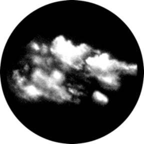 Cumulus Etched Gobo