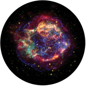 "Rosco Laboratories 86669 Colored ""Chromatic Nebula"" Glass Gobo 86669"