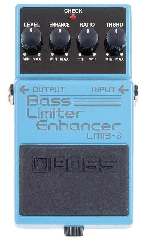 Bass Limiter & Enhancer Pedal