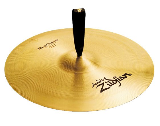 """18"""" Suspended Orchestral Cymbal"""