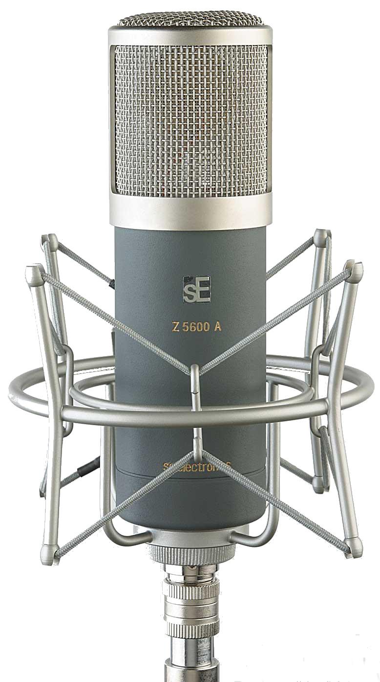 SE Electronics Z5600A MkII Large Diaphragm Studio Condenser Microphone Z5600A-MKII