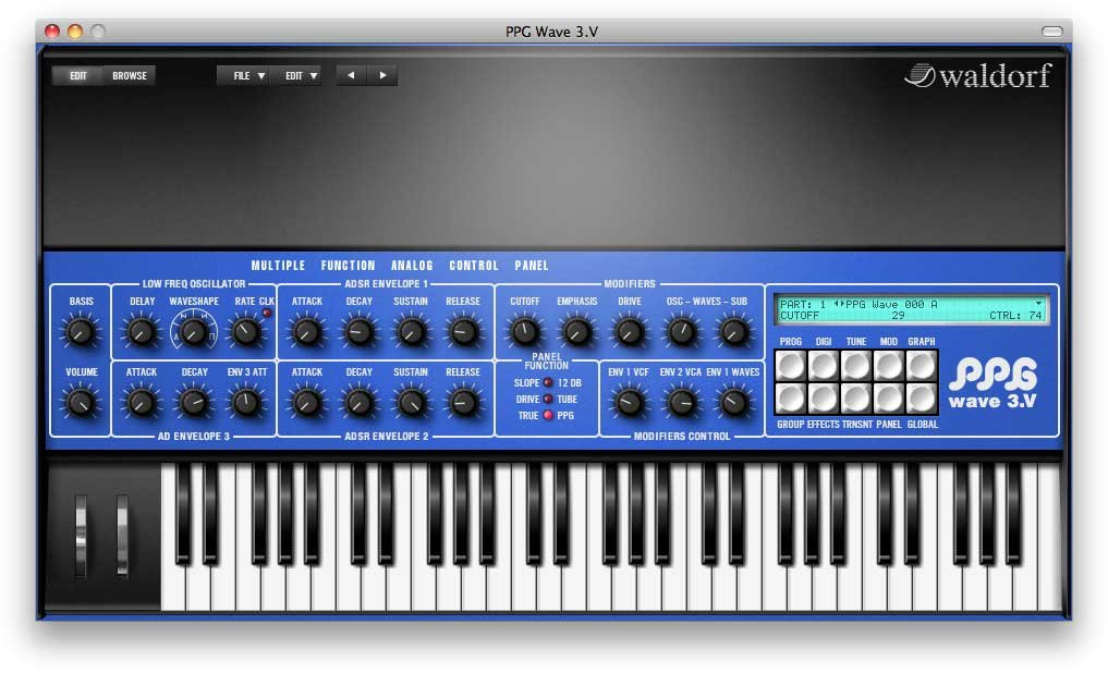 Software,Synthesizer,Wave 3.V