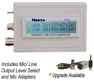Portable Time Code Generator