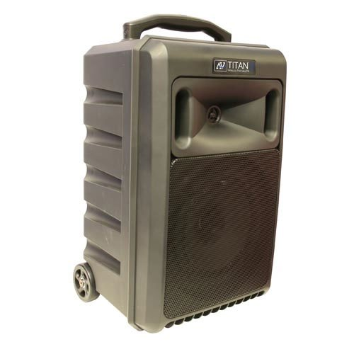 100W Portable PA System with UHF Wireless, CD Player and Bluetooth