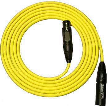 Mic Cable Quad Low-Z 50ft