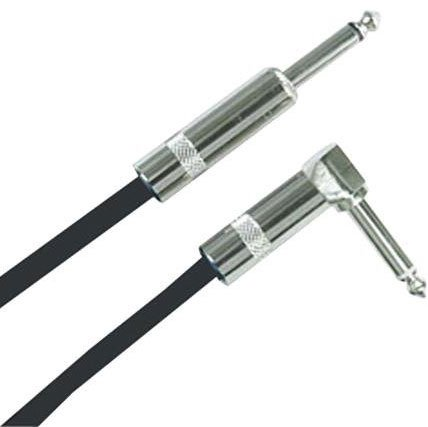 Instrument Cable, TS-TS 18.5` Right Angle