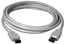 Cable Firewire 6p-4p 70Ft