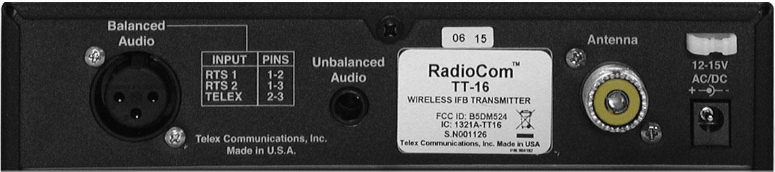 IFB Transmitter/16Chl
