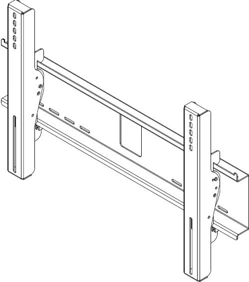 "Universal Environmental Tilt Wall Mount for 32""-60"" Flat Panel Screens"