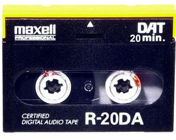 20 Min. RDAT (Maxell Part #: 182614)