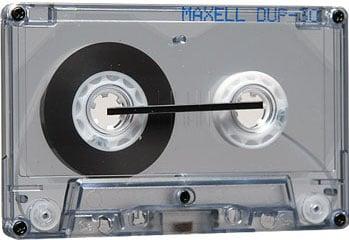 60 Min. Duplicator Audio Cassette (Maxell Part #: 101402)