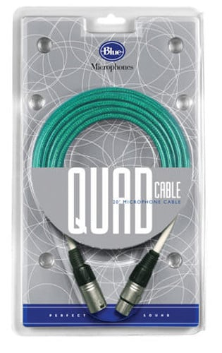 Blue Microphones Quad Cable 20 Ft Microphone Cable For