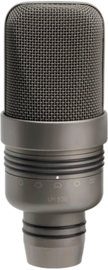 Twin Switchable Pattern Dual Capsule Condenser Microphone with Case
