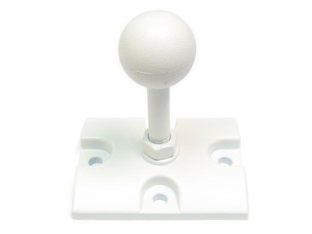 JBL White Ball Mount