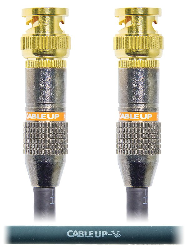 3 ft 75 Ohm BNC to BNC Video Cable