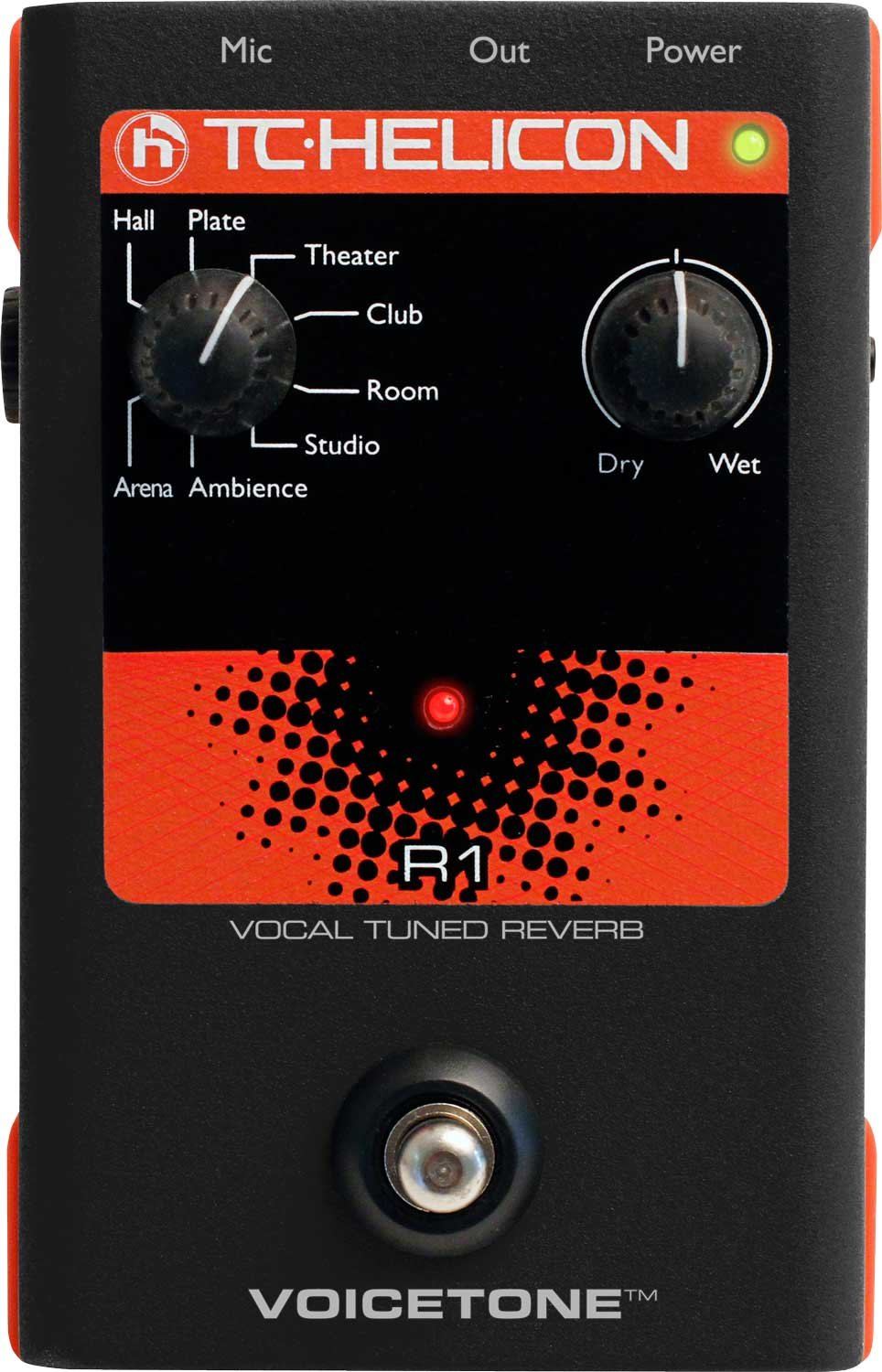 Voice Tuned Reverb Pedal
