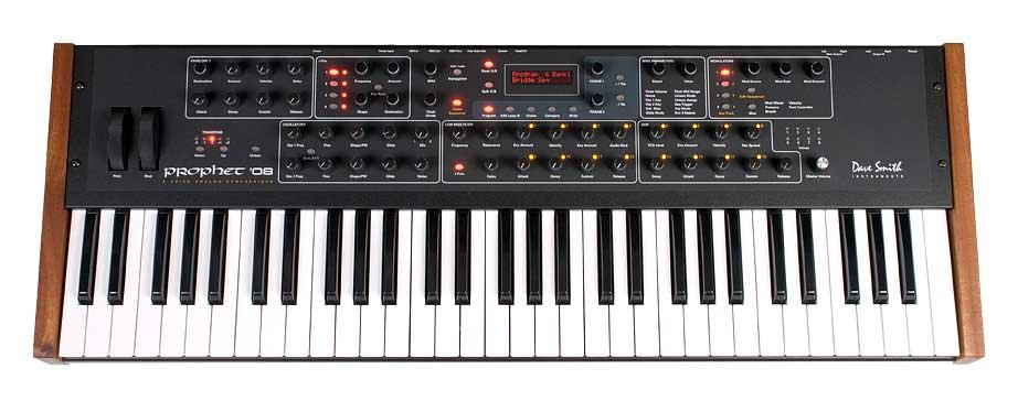Dave Smith Instruments Prophet '08 PE Keyboard Synthesizer with Potentiometers PROPHET-08-KEYBRD-PE