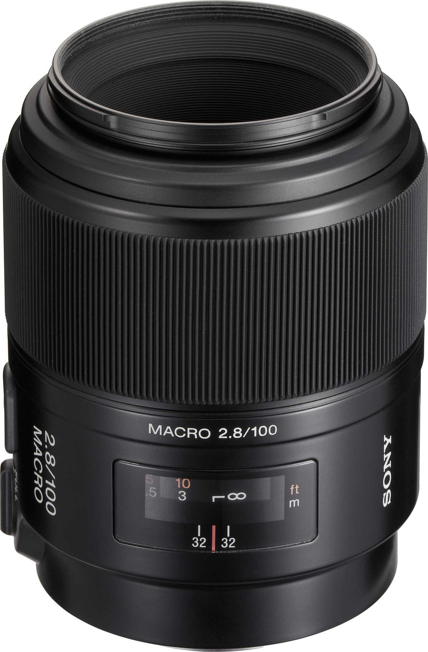 Sony SAL100M28 100mm, f2.8 Macro Lens SAL100M28