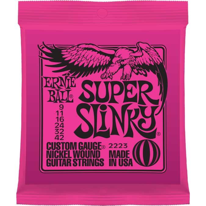 Super Slinky Nickel Wound Electric Guitar Strings
