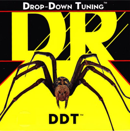 DR Strings DDT11 Extra Heavy Drop-Down Tuning Electric Guitar Strings DDT11