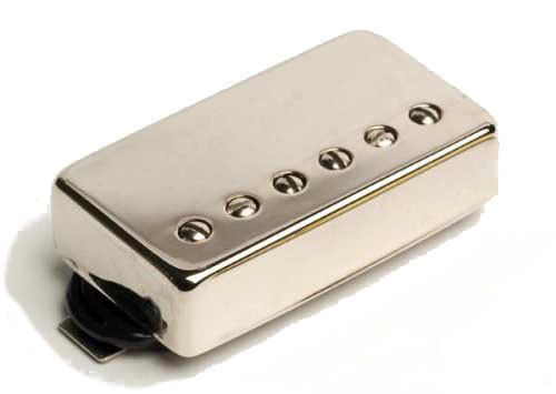 Pearly Gates Humbucking Guitar Bridge Pickup with Nickel Cover