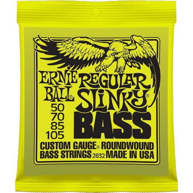 Regular Slinky Electric Bass Strings