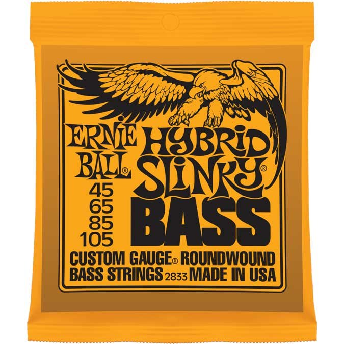 ".045""-.105"" Hybrid Slinky Electric Bass Strings"