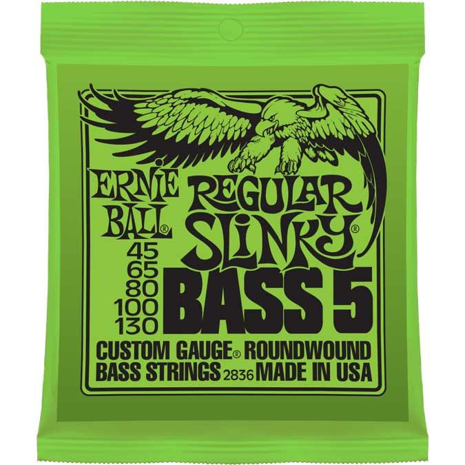 Regular Slinky 5-String Electric Bass Strings
