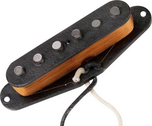 Single-Coil Guitar Pickup, Vintage Staggered Strat