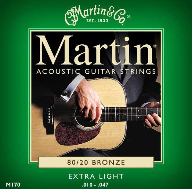 Extra Light 80/20 Acoustic Guitar Strings