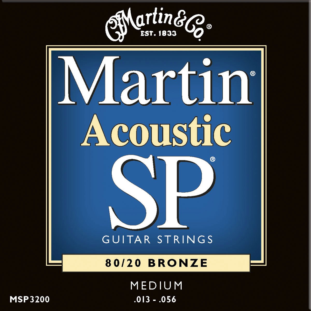 Medium Martin SP 80/20 Acoustic Guitar Strings