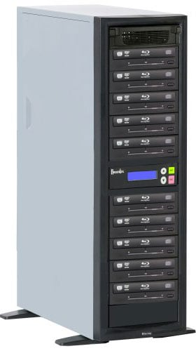BD/CD/DVD Writer with 10 Target Drives, 500 GB Hard Drive
