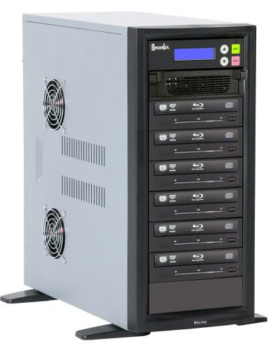 BD/CD/DVD Writer, 500 GB HD, 6 Target Drives