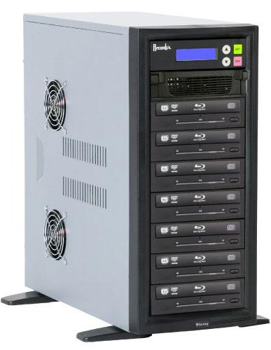 BD/CD/DVD Writer, 500 GB HD, 7 Target Drives