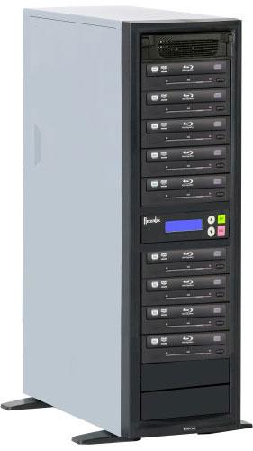 BD/CD/DVD Writer, 500 GB HD, 9 Target Drives