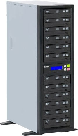 CD/DVD Duplicator with 11 Target Drives