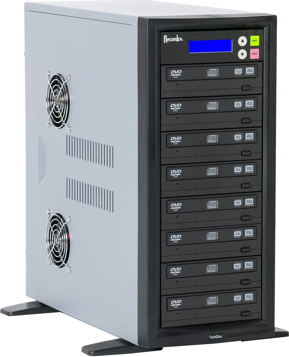 CD/DVD Duplicator with 7 Target Drives