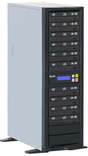 CD/DVD Duplicator with 9 Target Drives