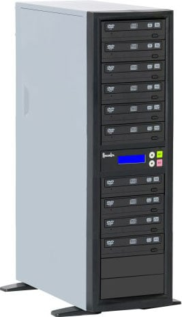 10-Bay Expansion Unit for DVD/CD Duplicator