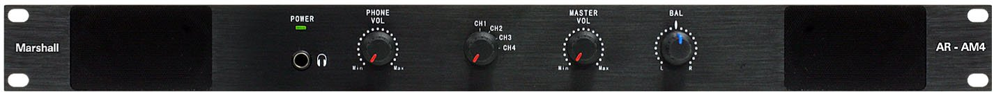 4-Channel Analog Audio Monitor