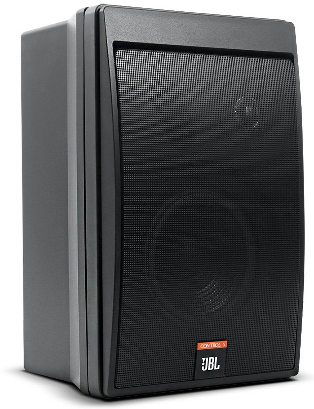 Two-Way Compact Control Monitor Loudspeaker System, Black