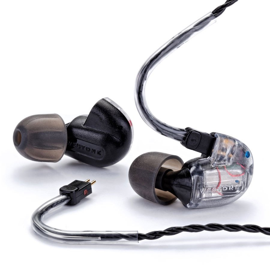 3-Way Balanced Armature In-Ear Monitors with Removable Cable