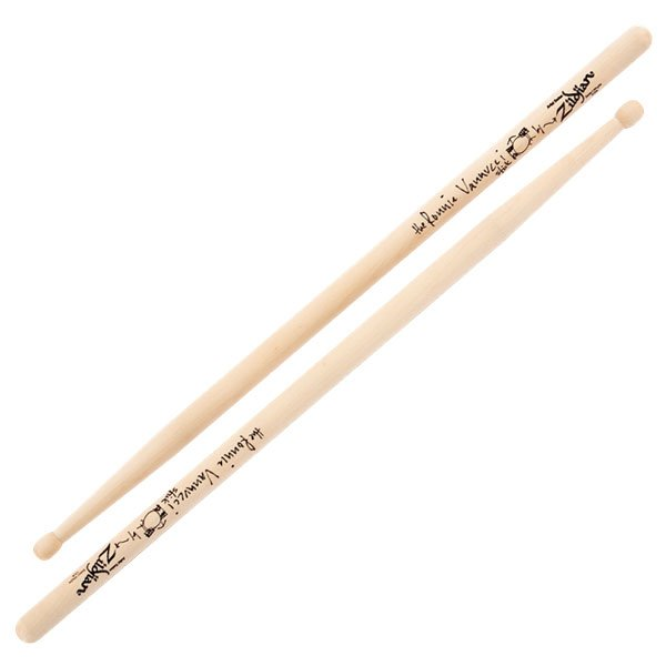 Ronnie Vannucci Artist Series Drumsticks, Maple, Wood Tip