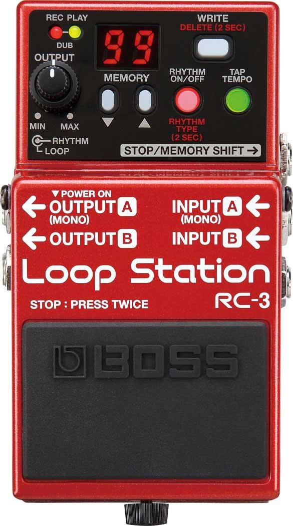 Boss RC-3 Loop Station Compact Pedal RC3-BOSS