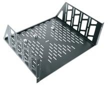 4-Space Vented Utility Rack Shelf