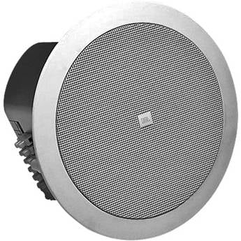 JBL Control 24C Micro 4-Inch Ceiling Speaker for Background Music, White CONTROL-24C-MICRO